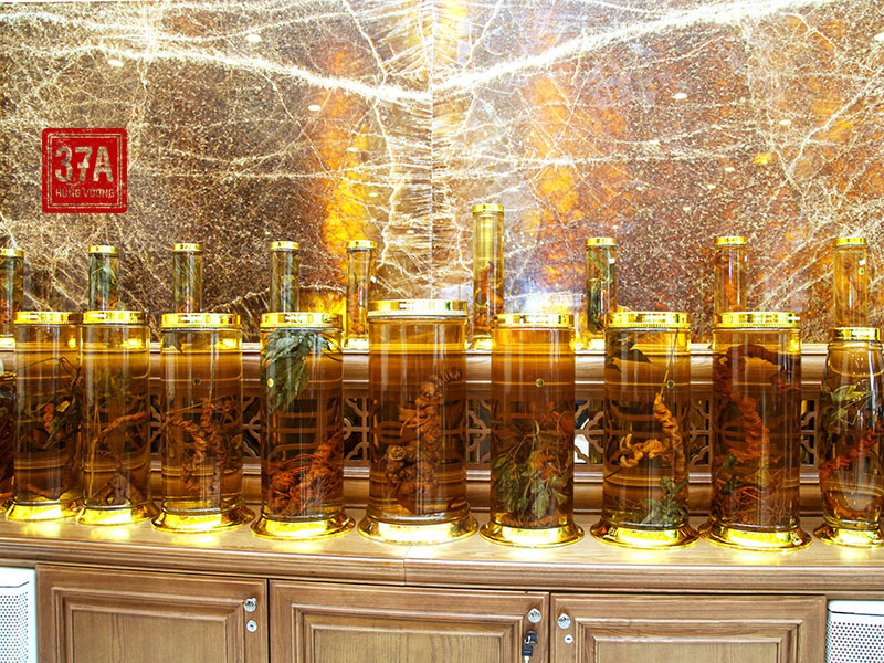 Công dụng của sâm Ngọc Linh ngâm rượu
